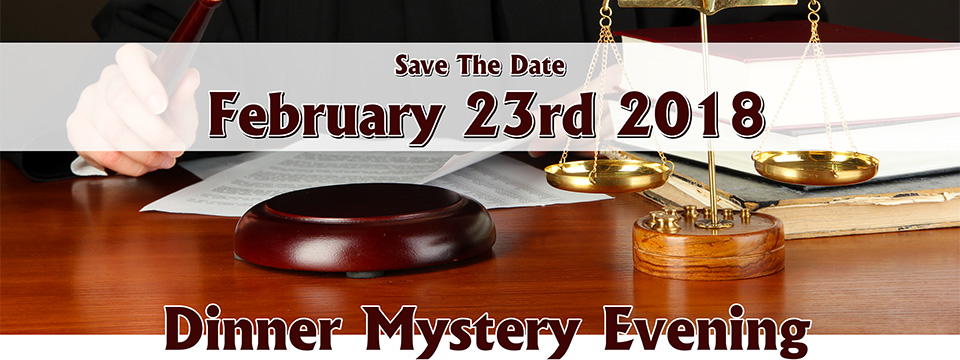 Dinner Mystery Evening Hosted by Author Donna Jodhan And Friends in Collaboration with the Canadian National Institute for the Blind (CNIB) - February 23rd 2018 - Author Donna Jodhan