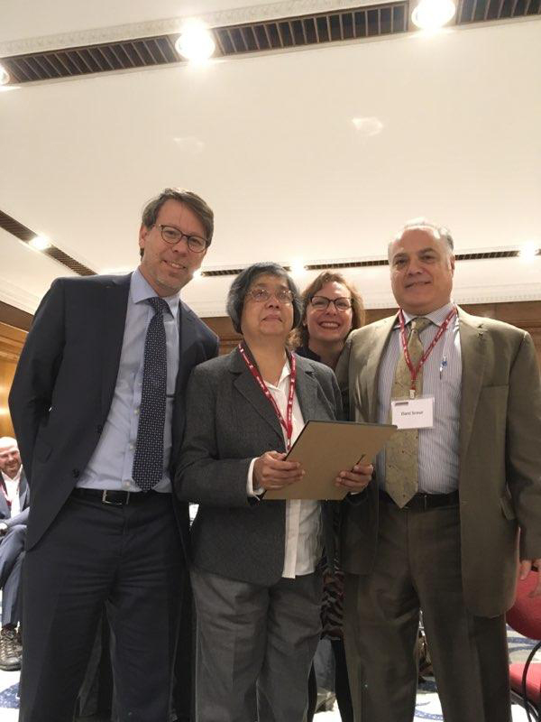 Advisory Group for Disability Issues Meeting Picture. November 20th 2018. S. Perrault, D. Jodhan, L. Drouillard and D. Srour.