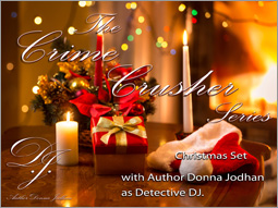 The Crime Crusher Series, Christmas Set Cover Photo.