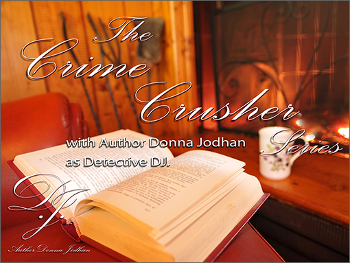 Author Donna Jodhan Audio Mystery Library Subscription. Crime Crusher Series Season 1 Cover.