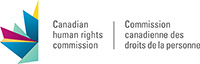 Logo: Canadian Human Rights Commission (CHRC)