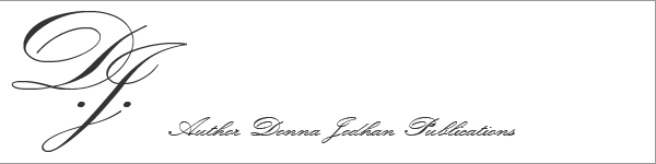 Author Donna Jodhan Publications Header. Includes Author Donna Jodhan Logo with Tagline that reads Author Donna Jodhan Publications.