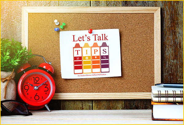 Let's Talk Tips Newsletter Header